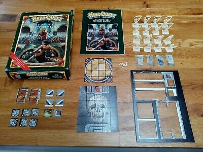 UK MB HeroQuest Return Of The Witch Lord Expansion - Boxed And Complete • 20£