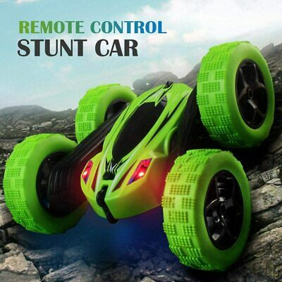 Cheap Rc Stunt Car 1/28 2.4ghz Lights 4wd Double Sided 360 Remote Radio Control • 11.97£