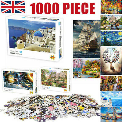 1000 Piece Jigsaw Puzzles Landscapes Space Star Brand New Adult Kids Puzzle Game • 8.09£