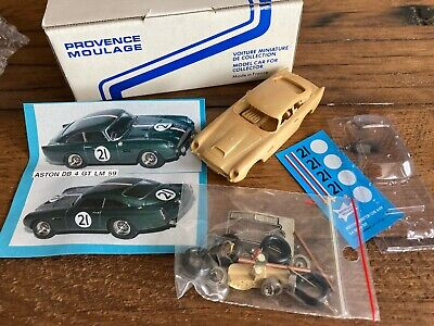 Provence Moulage 1:43 Resin Kit Aston Martin DB4  GT L Mans 1959 Ecurie Patthey • 49.99£