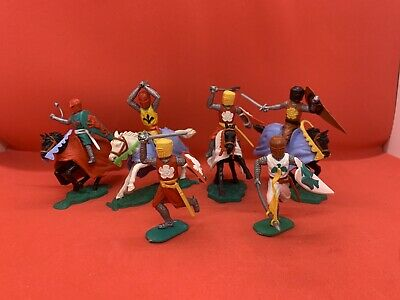 Vintage Job Lot 1960's Timpo Knights Job Lot Collection.  • 10.50£