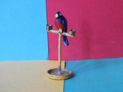 Charbens Rare Prewar Vintage Lead Mimic Circus Series Performing Parrot On Perch • 110.49£