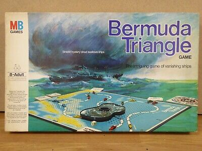Vintage - BERMUDA TRIANGLE - Vanishing Ships By MB Games COMPLETE 1976 • 4.99£