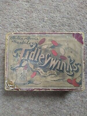 Tiddlywinks Game - Very Old • 3£