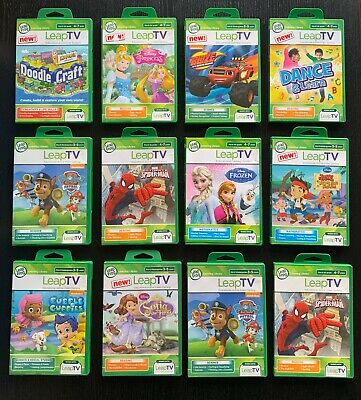 LeapFrog LeapTV Educational Games (Leap TV) Reading, Maths, Science & More • 5.99£