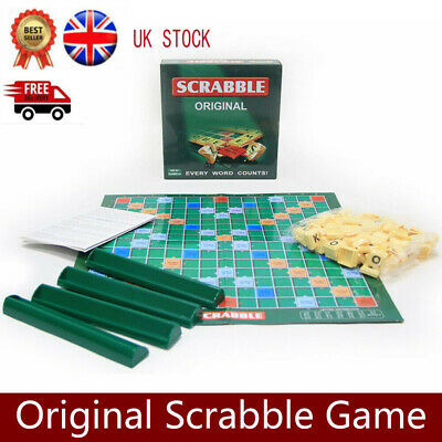 Original Scrabble Board Game Family Kids Adult Educational Toys Puzzle Game • 9.99£