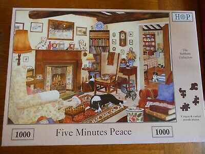 FIVE MINUTES PEACE 1000-piece House Of Puzzles Saltburn Collection Jigsaw Puzzle • 1.70£