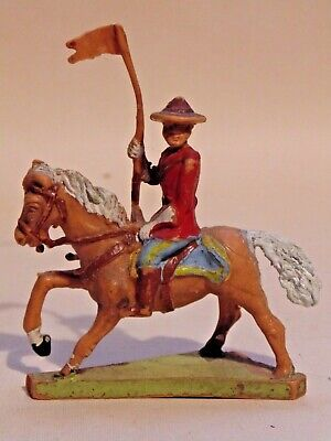 Rare  Paint Quality  Charben  Plastic  Mountie      1960,s • 6.50£