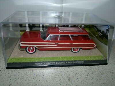 EAGLEMOSS - James Bond ...Ford Country Squire,.. DIECAST 1/43 Scale ISSUE 105 • 5.99£