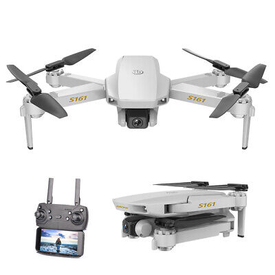 S161 Pro RC Drone Camera HD 4K Wifi FPV Altitude Hold Quadcopter 3Batteries K5Y2 • 52.70£