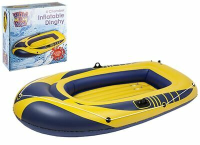 Wild N Wet 4 Chamber Inflatable Dinghy 89  X 51  • 69.99£