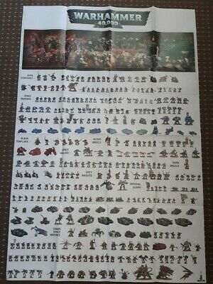 Games Workshop Warhammer 40000 Conquest Magazine Large  Poster • 10£