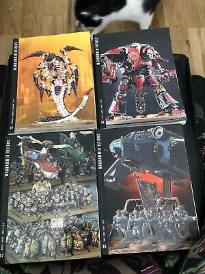 Warhammer Visions Issues 1-4 • 2.30£