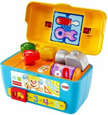 Fisher-Price Laugh & Learn Smart Stages Toolbox Light Up Sounds • 19.99£