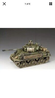 KING AND COUNTRY FURY Sherman Tank WW2 DD279 • 150£