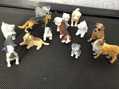 Collection Of Animal Dog Puppies Figures  • 3.50£