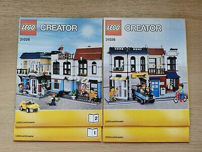 Lego Creator 31026 Bike Shop And Cafe - INSTRUCTIONS MANUAL ONLY - Brand New • 4.99£