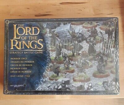 Lord Of The Rings Warhammer 24 Mordor Orcs New Unused Box Set • 8£