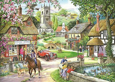 House Of Puzzles 1000 Piece Jigsaw Puzzle - Feeding The Ducks -  New & Sealed • 15.99£