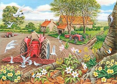 House Of Puzzles Big 500 Piece Jigsaw Puzzle - Red Harrows -  New & Sealed • 15.99£