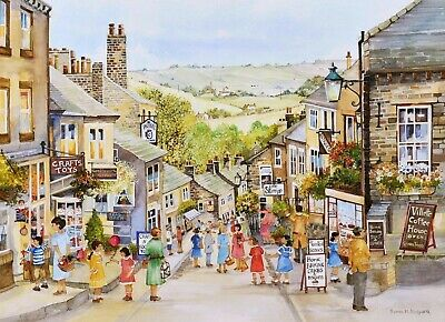House Of Puzzles Big 500 Piece Jigsaw Puzzle - Summer Morning - New & Sealed • 15.99£