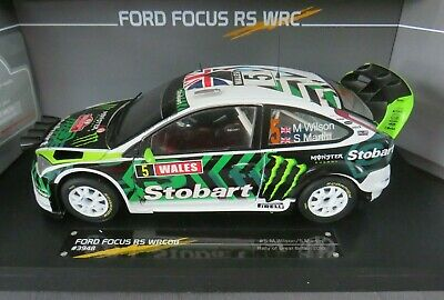Sunstar Limited Edition 1:18 Rally Car Ford Focus RS WRC08 - Great Britain 2010 • 24.99£