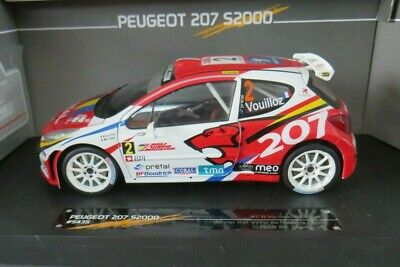 Sunstar Limited Edition 1:18 Rally Car Peugeot 207 S2000 IRC Champion 2008 • 46£