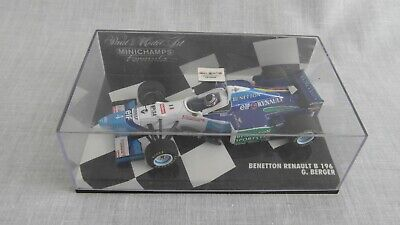 Minichamps Benetton Renault B 196. G. Berger. THE BEST. • 4.50£