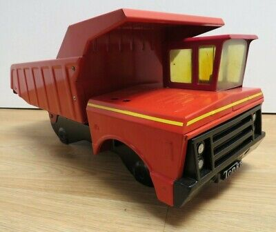 Vintage Mighty Tonka Red XMB-975 Dump Truck Tipper - Partly Restored • 4.99£