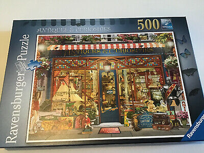 Ravensburger 500 Piece Jigsaw Puzzles Antiques And Curiosities • 3£