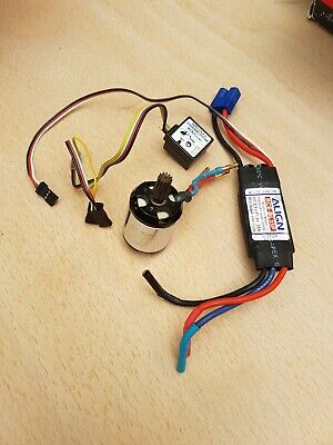 Align RCM -BL450M Motor And Align RCE - BL35P ESC And Gyro Rc Helicopter  • 35£