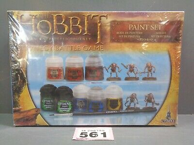 Warhammer Lord Of Rings  Paint Set The Hobbit  Bnib 561-788 • 20£