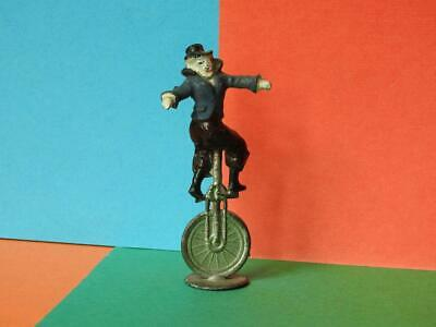 Charbens Lead Pre-war Vintage Mimic Circus Series Clown Riding A Unicycle • 67.99£