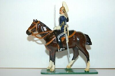 Pre War Flyde Lead Mounted 6th Dragoon Guard                          Britains • 9.99£