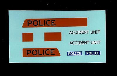 Dinky 272 Ford Transit - Police Accident Transfers/decals • 4£
