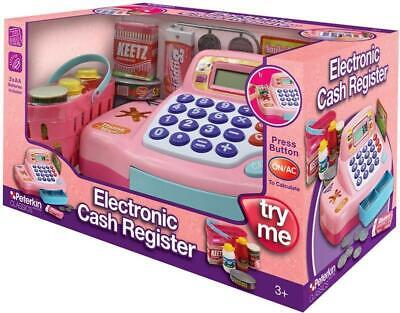 Electronic Cash Register - Pink Child Pretend Play Till Toy • 13.50£