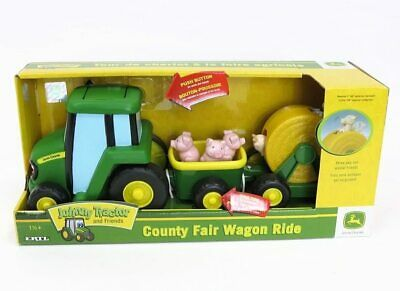John Deere 35089 Johnny Tractor Learn & Play, Multicoloured Toy • 19.99£