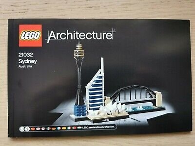 Lego Architecture 21032 Sydney - INSTRUCTIONS MANUAL ONLY - Brand New • 3.50£