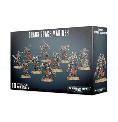 Warhammer 40.000 Chaos Space Marines • 42.60£