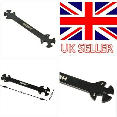 Model Tool Wrench Spanners For 3/4/5/5.5/7/8mm Turnbuckles Nuts RC Car Part UK • 2.39£