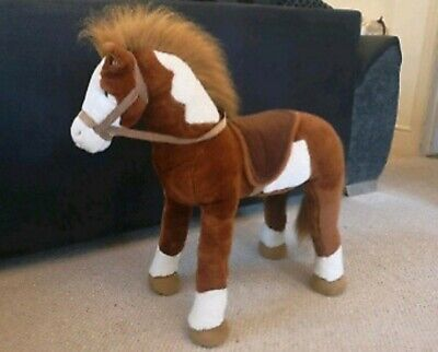 Sit On Brown Toy Horse  • 10£