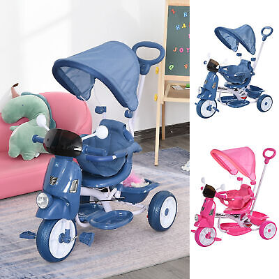 Kids Outdoor Toddler Tricycle For 3-8 Years Old Foldable Bike Motorcycle • 44.99£