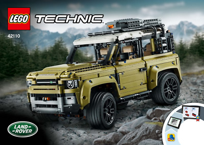 Lego Technic Model - 42110 Land Rover Defender - INSTRUCTIONS MANUAL ONLY - New • 8.99£