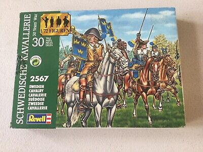Revell 02567. Swedish Cavalry - Thirty Years War 1/72 Scale. 15 Figures. • 4.95£