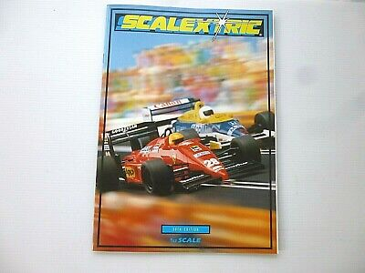 SCALEXTRIC 30th EDITION CATALOGUE [EXCELLENT CONDITION] • 2.99£