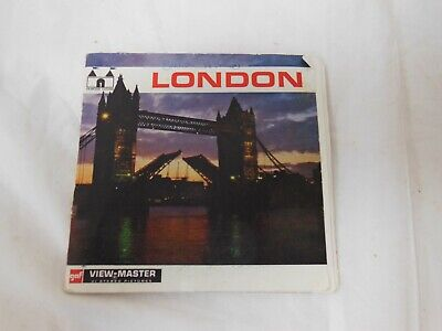 Gaf View Master Discs Of London • 9.99£