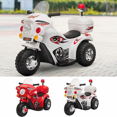 Kids Motorcycle Ride On 6V Battery Powered Electric Trike Toys For 18-36 Months • 41.99£