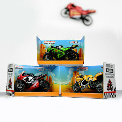 Goodiz Racing Motorbike Motorcycle Toy Suspension Gift Childrens  • 4.99£