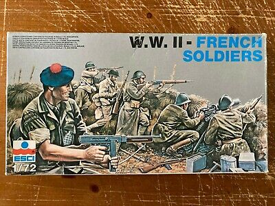 Esci 1/72 Ww2 French Soldiers 205 • 10£