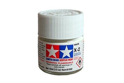 Tamiya Mini Acrylic Model Paint 10ml Matt Gloss Metallic • 1.85£
